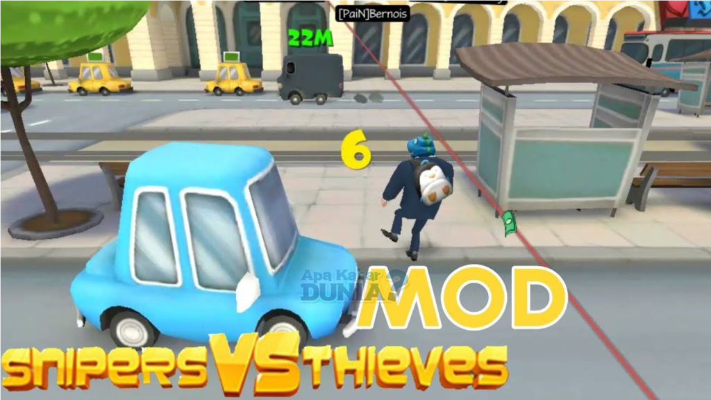Apa Keistimewaan Sniper vs Thieves Mod Apk