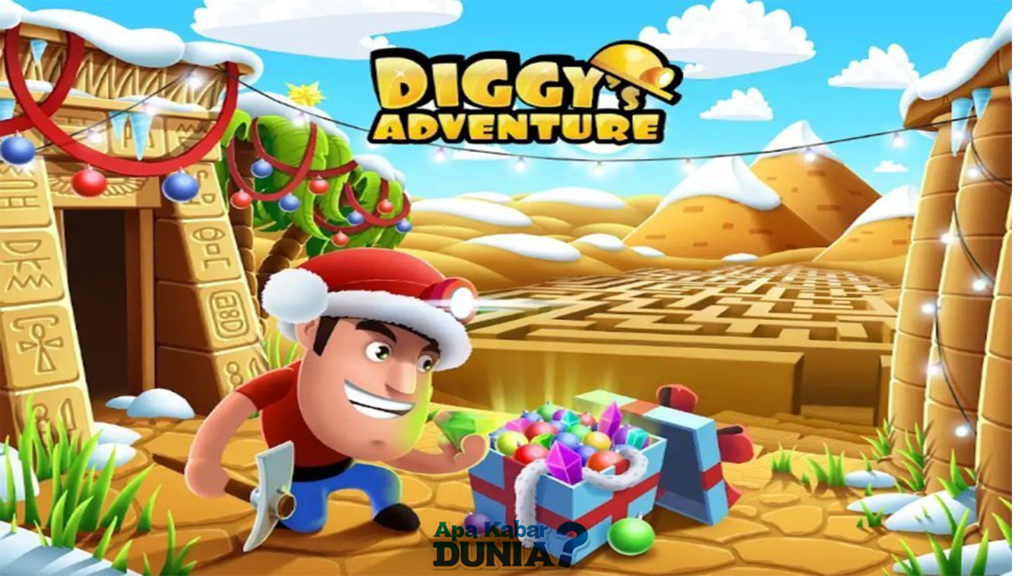 Download Diggy's Adventure Mod Apk Versi Terbaru 2020