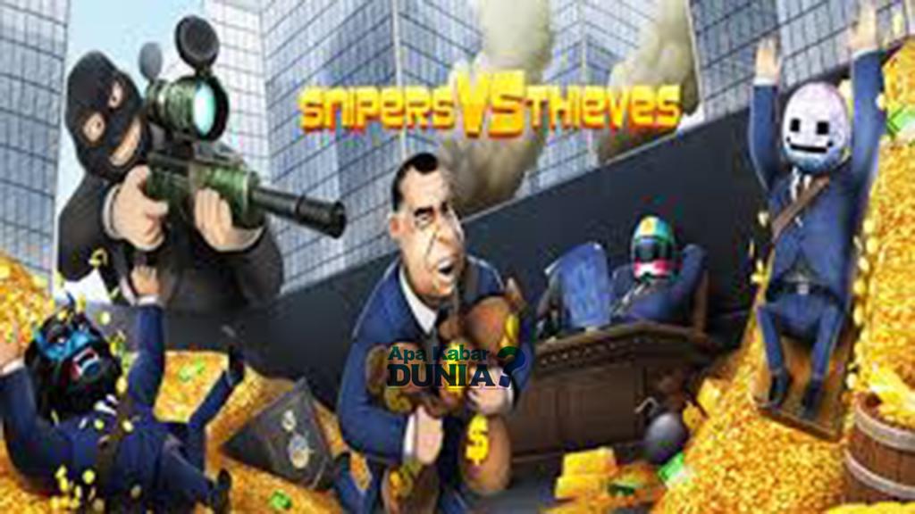 Download Snipers vs Thieves Mod Apk Versi Terbaru 2020