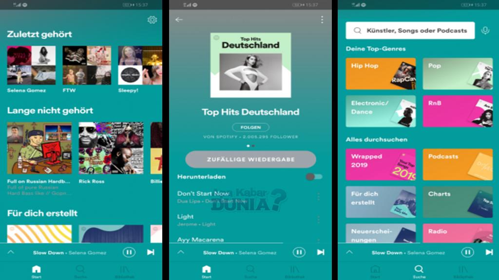 Fitur Luar Biasa Dari Spotify Mega Music