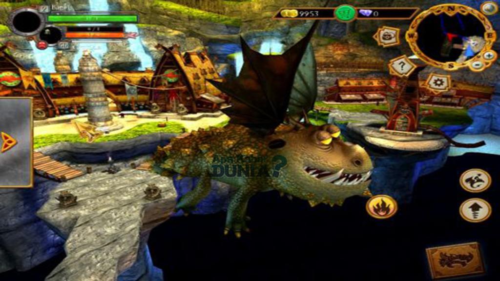 Fitur Luar Biasa School Of Dragons Mod