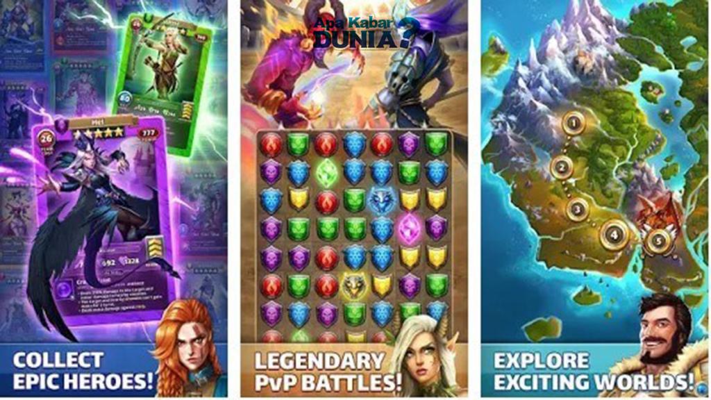 Fitur Luar Biasa Terbaru Dari Empires & Puzzle Mod Apk