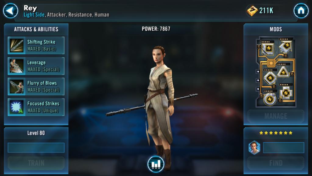 Fitur Terbaru Star Wars Galaxy of Heroes
