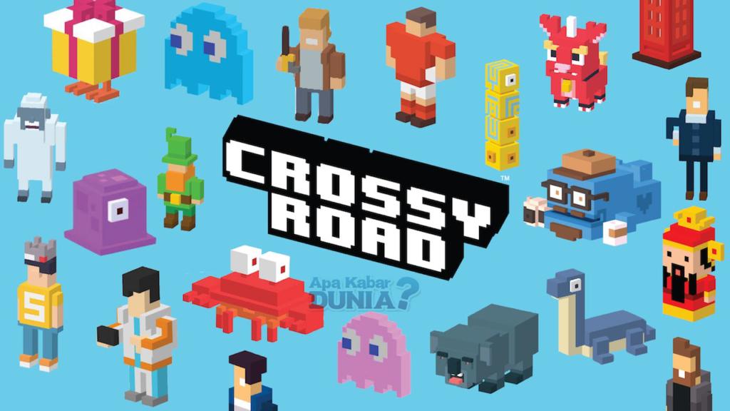 Fitur dan Gameplay Crossy Road