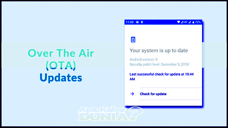 Cara Memperbarui OS Android Melalui OTA (Over the Air)