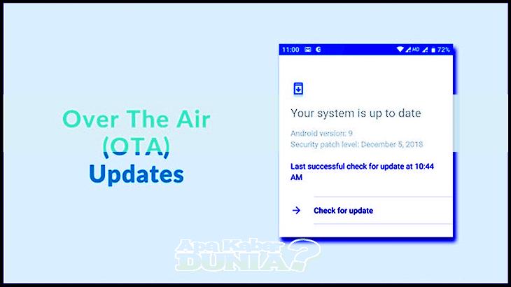 Cara Memperbarui OS Android Melalui OTA (Over the Air)