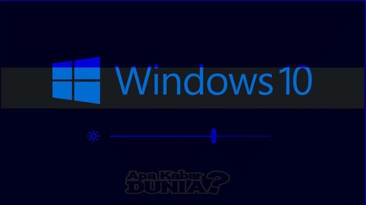 Cara mengatur kecerahan layar komputer Windows 10 Cara mengatur kecerahan layar komputer menggunakan Action Center Buka Action Center atau tekan Windows Key + A. Temukan menu untuk mencerahkan dan meredupkan layar di bawah ini. Gerakkan slider ke kanan untuk menambah kecerahan. Untuk mengurangi kecerahan, gerakkan slider ke kiri. Lihat gambar di bawah untuk informasi lebih lanjut.