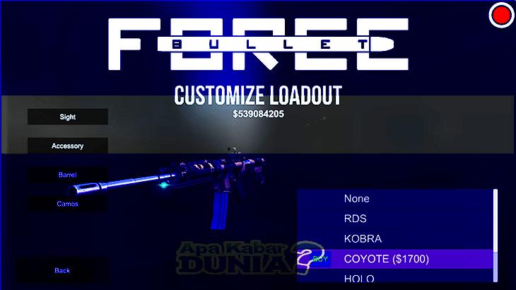 Download Bullet Force Mod Apk Versi Terbaru 2020