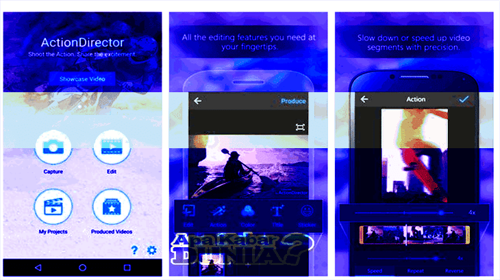 Fitur ActionDirector Video Editor Mod Premium Unlock