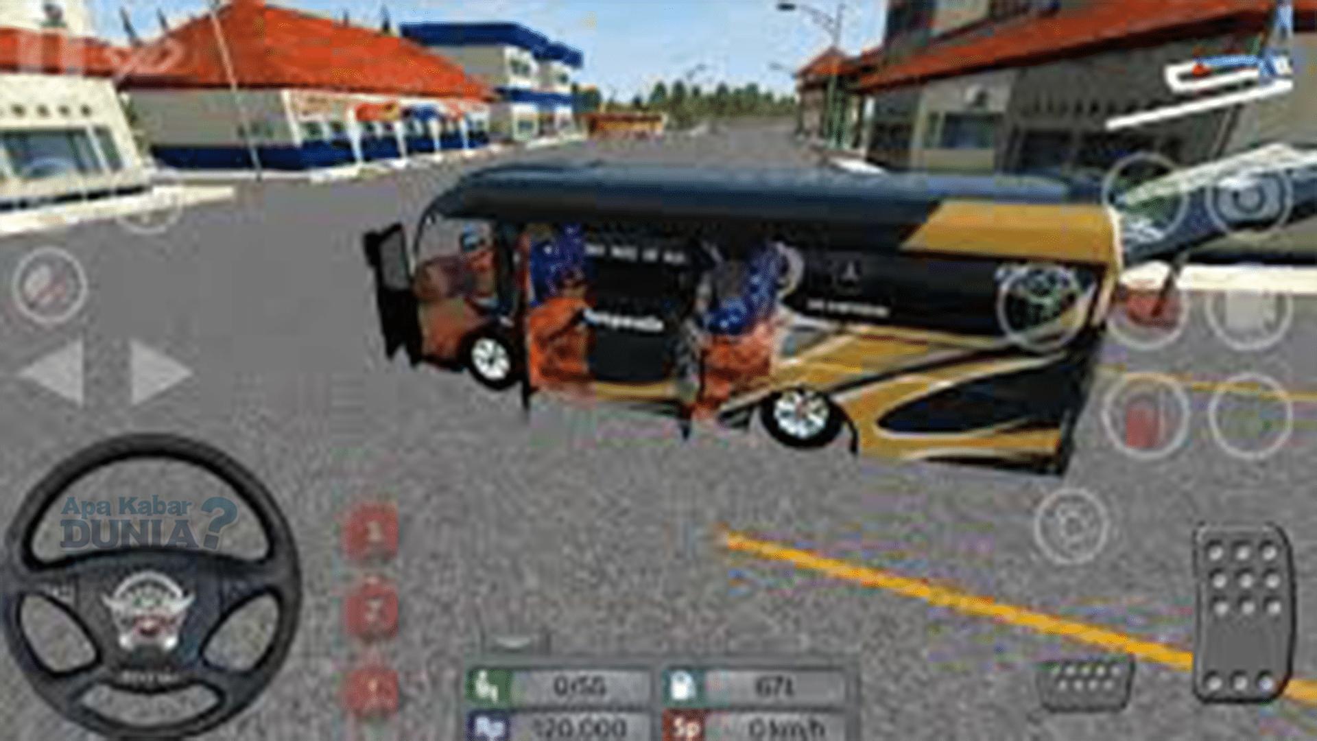 Fitur Mod Bus Simulator Indonesia