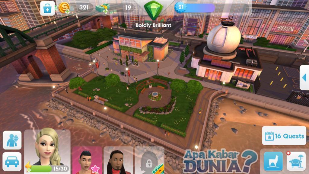 Grafik The Sims Mobile Mod Apk