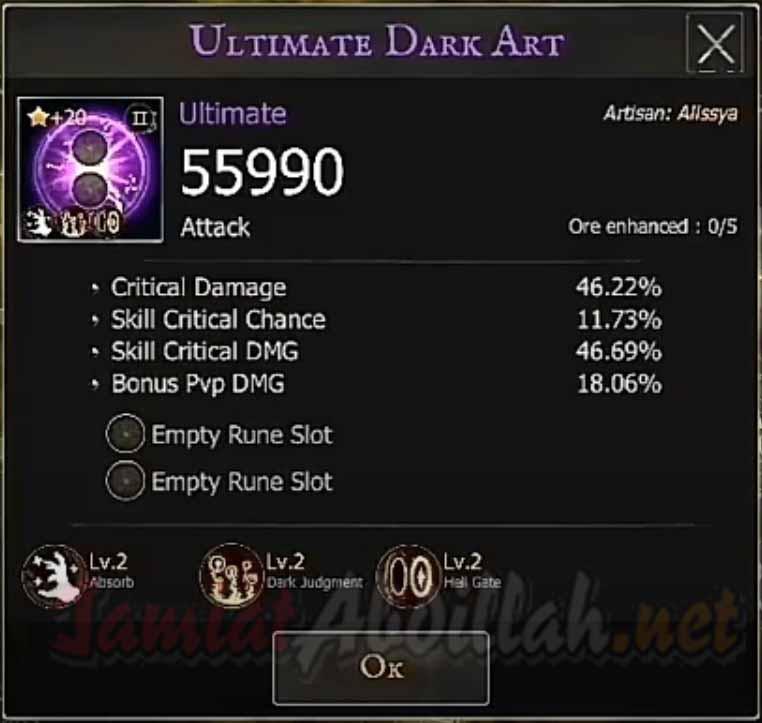 Kombinasi Skill Shadow Of Death