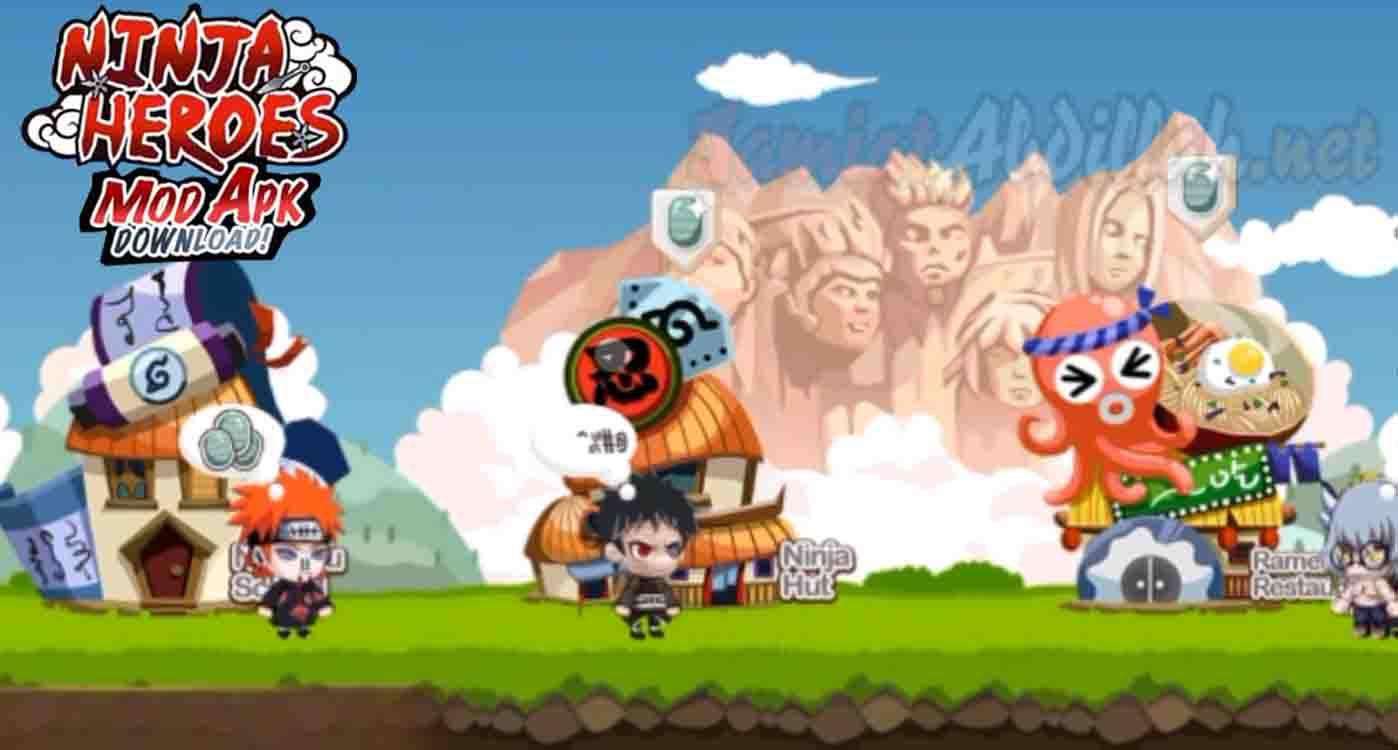 download Ninja Heroes Mod Apk