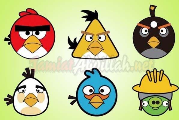 Karakter Angry Bird 2